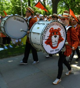 The Band leads the 2013 P-rade (image courtesy of Princeton University Facebook)