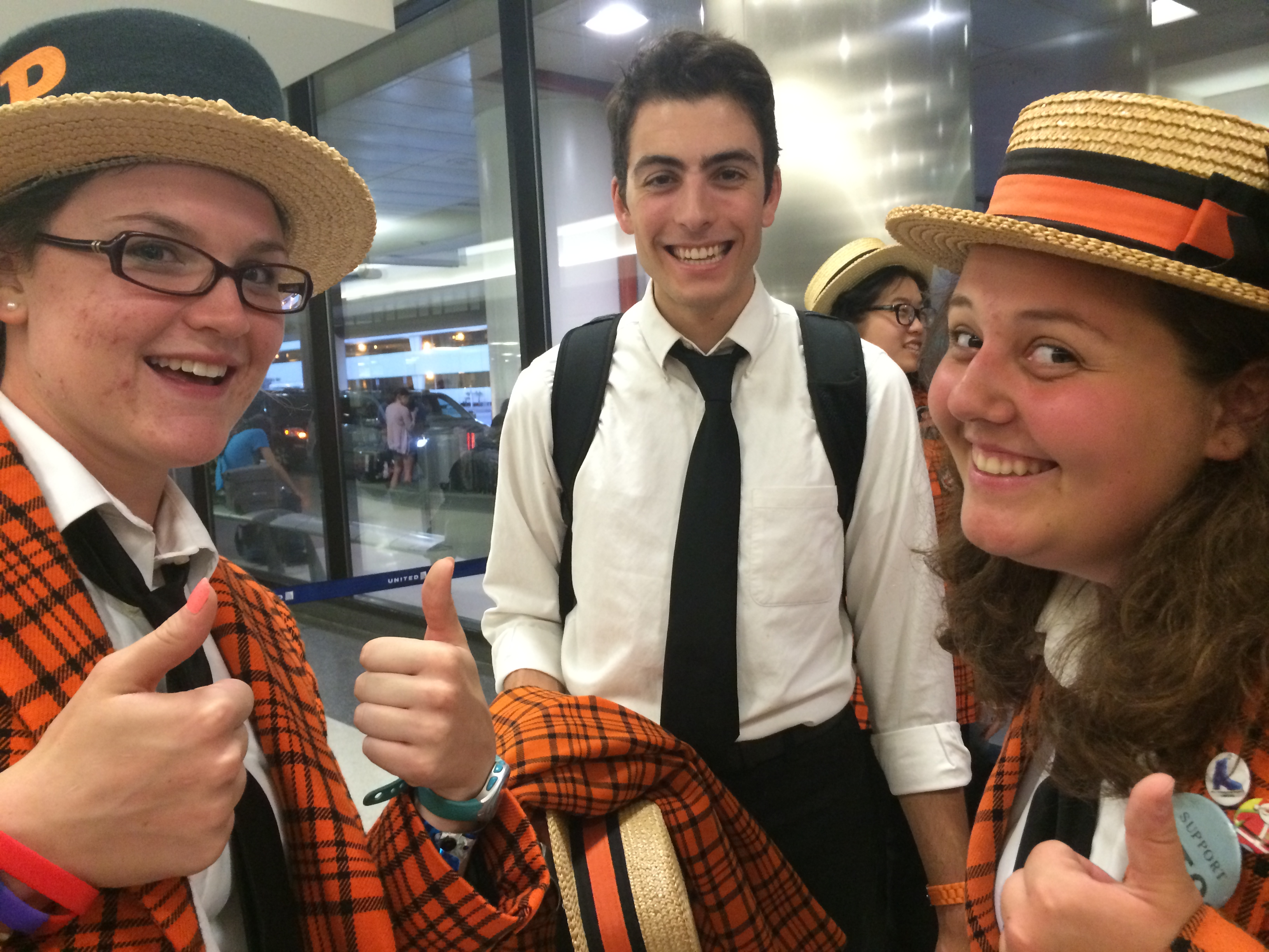 blog princeton university band megan kennedy 15 dennis smith 16 and rachel marek 17 smile